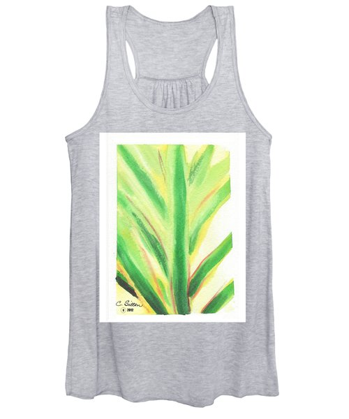 Tropical Leaf Women's Tank Top