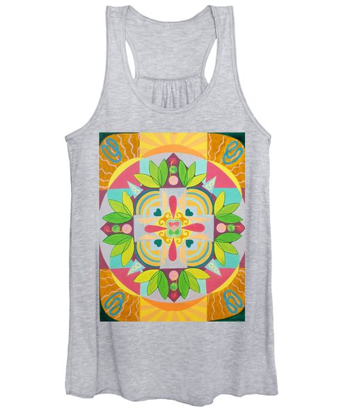 Tropical Mandala Women's Tank Top