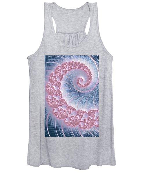 Twirly Swirl Women's Tank Top