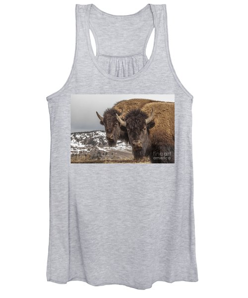 Two Bison Women's Tank Top