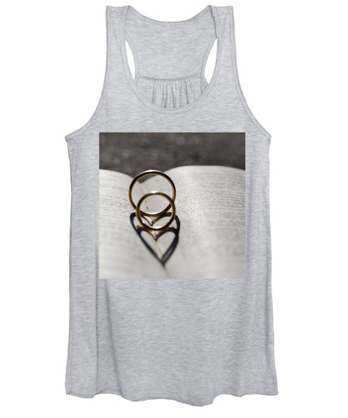 Two Hearts As One Women's Tank Top