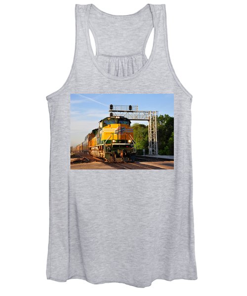 Union Pacific Chicago And North Western Heritage Unit Women's Tank Top