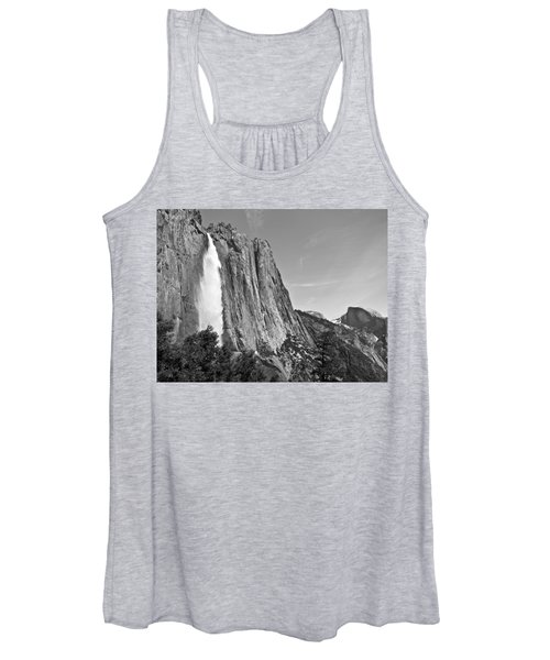 Upper Yosemite Fall With Half Dome Women's Tank Top