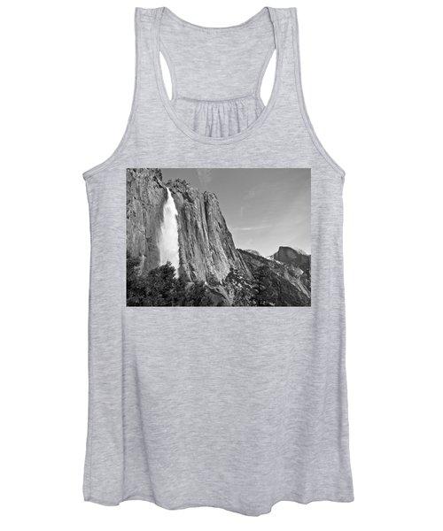 Upper Yosemite Fall With Half Dome Women's Tank Top