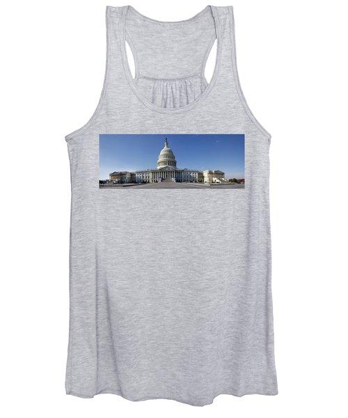 Us Capitol Panorama Women's Tank Top