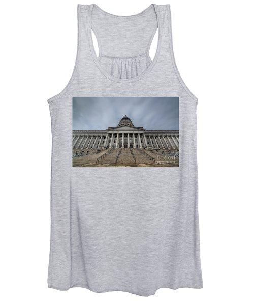 Utah State Capitol Building Women's Tank Top