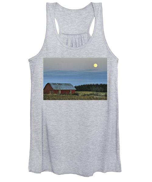 Vermont Full Moon Women's Tank Top