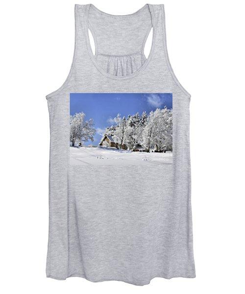 Vermont Winter Beauty Women's Tank Top