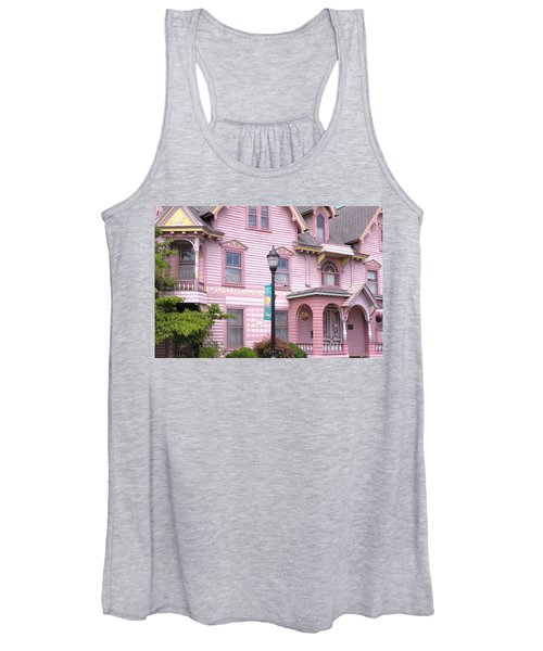 Victorian Pink House - Milford Delaware Women's Tank Top