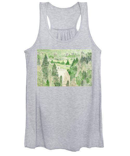 View From The Dam Women's Tank Top