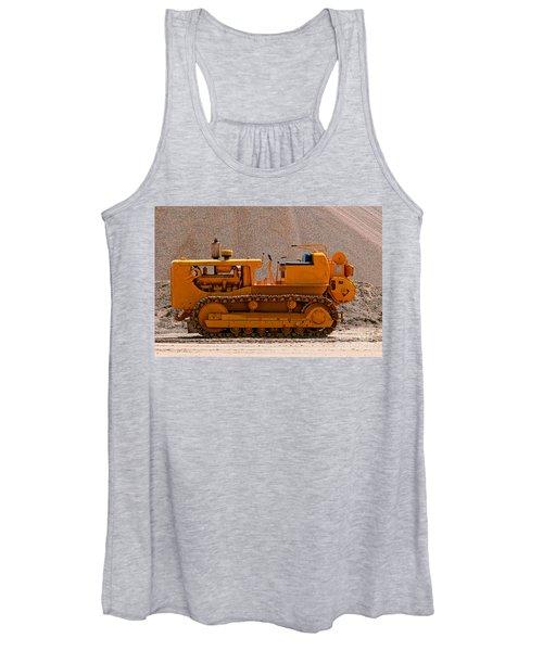 Vintage Bulldozer Women's Tank Top