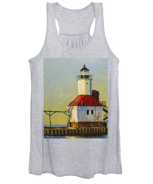 Waiting For The Sunset Women's Tank Top