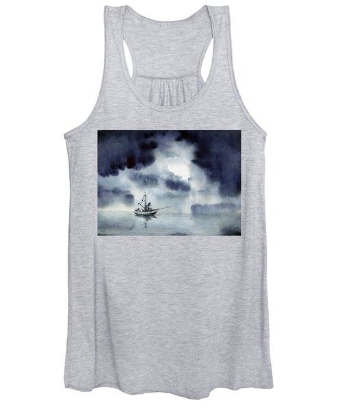 Waiting Out The Squall Women's Tank Top