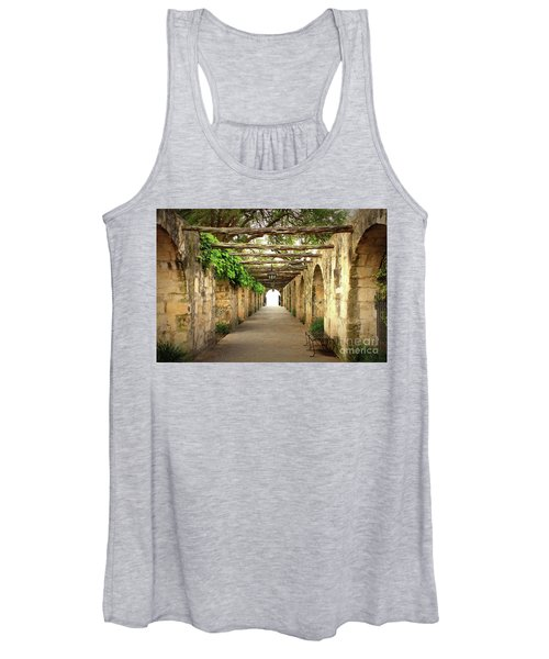 Walk To The Light Women's Tank Top
