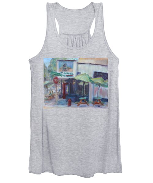 Warm Afternoon In The City  Women's Tank Top