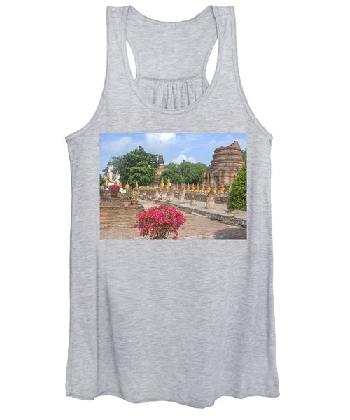 Wat Phra Chao Phya-thai Buddha Images And Ruined Chedi Dtha004 Women's Tank Top