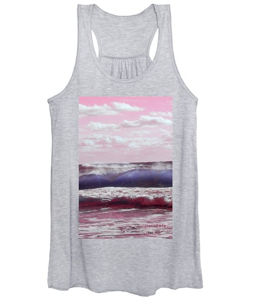 Wave Formation 2 Women's Tank Top