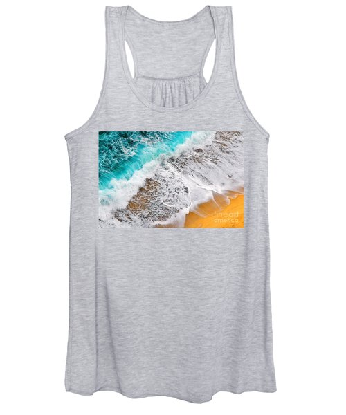 Waves Abstract Women's Tank Top