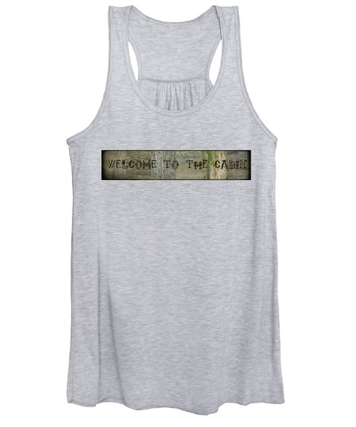 Welcome To The Cabin Women's Tank Top
