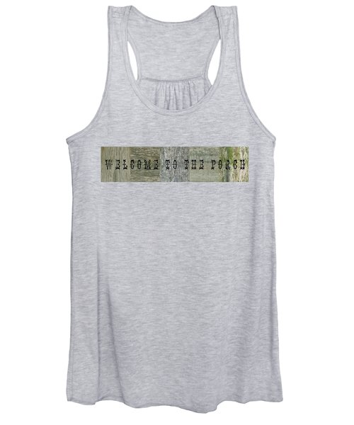 Welcome To The Porch Women's Tank Top