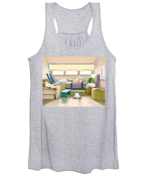 Westie Retreat  Women's Tank Top