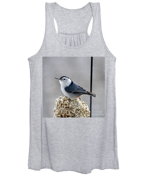 White-breasted Nuthatch Women's Tank Top