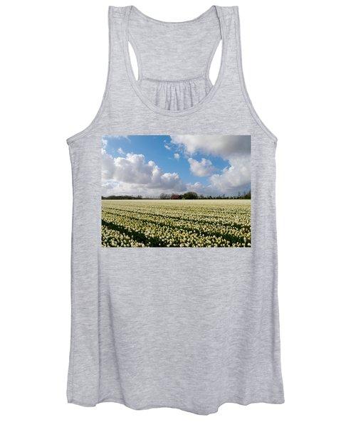 White Field Women's Tank Top