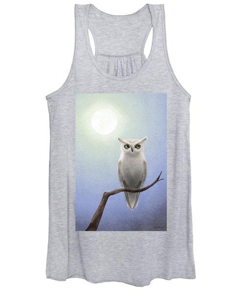 White Owl Women's Tank Top