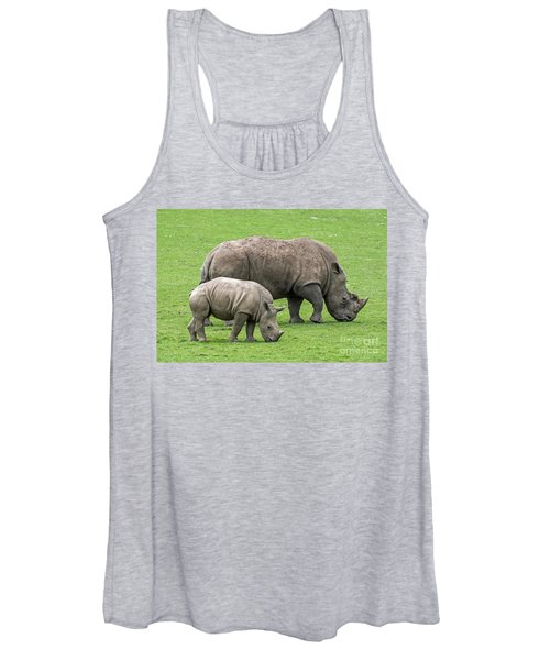 White Rhino 8 Women's Tank Top
