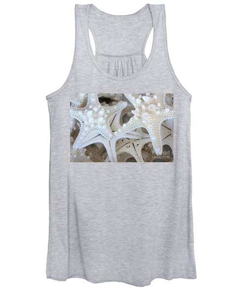 White Starfish Women's Tank Top