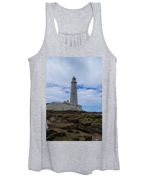 Whitley Bay St Mary's Lighthouse Women's Tank Top