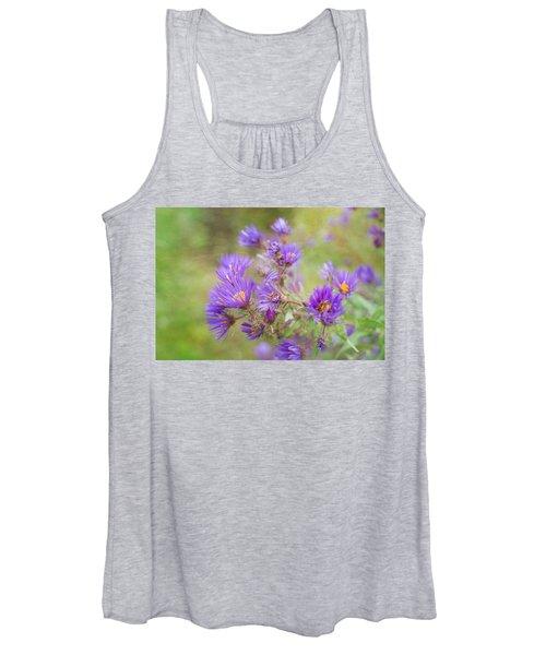 Wild Flowers In The Fall Women's Tank Top