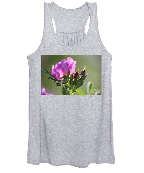 Wild Rose Women's Tank Top