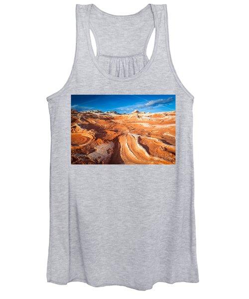 Wild Sandstone Landscape Women's Tank Top