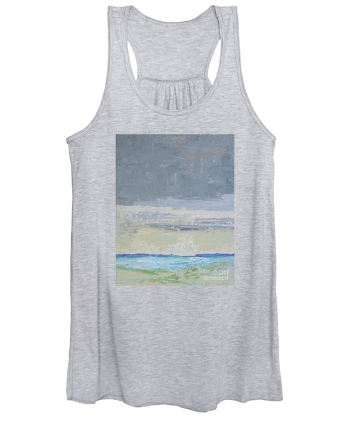 Wind And Rain On The Bay Women's Tank Top