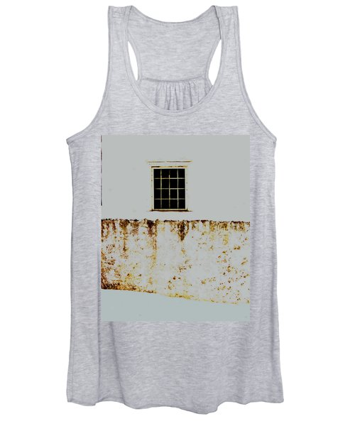 Window Wall And Snow Women's Tank Top