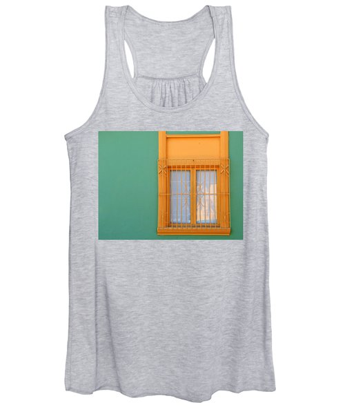 Women's Tank Top featuring the photograph Windows Of The World - Santiago Chile by Rick Locke