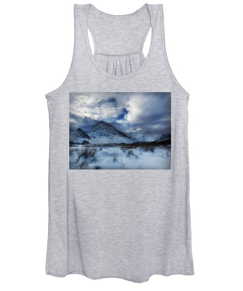 Winter At Tryfan Women's Tank Top