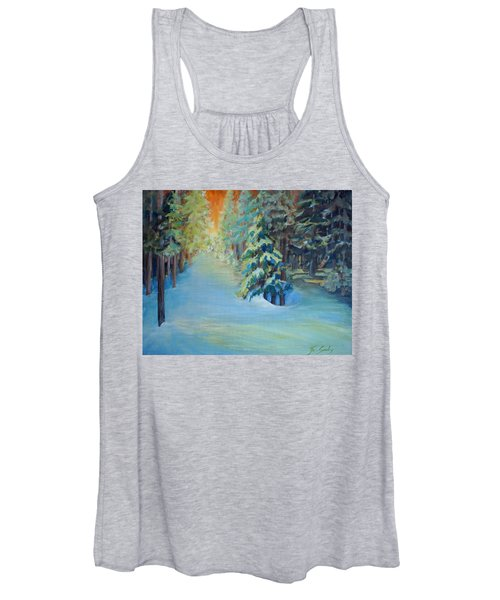 A Road Less Travelled Women's Tank Top