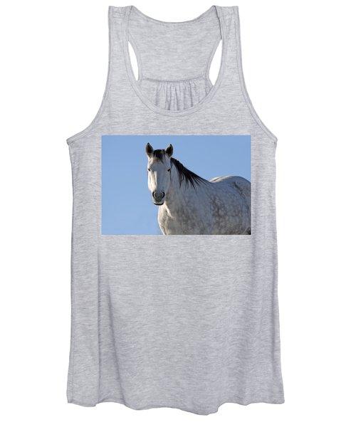 Winter Pony Women's Tank Top