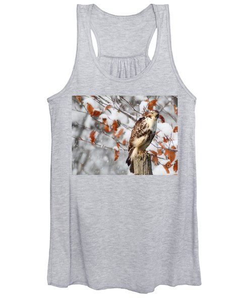 Winter Visitor  Women's Tank Top