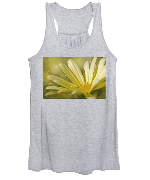 Yellow Daisy Women's Tank Top