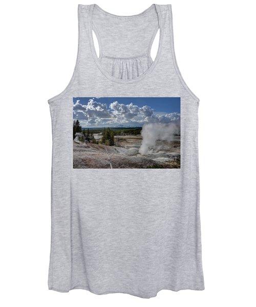 Yellowstone's Norris Geyser Basin Women's Tank Top