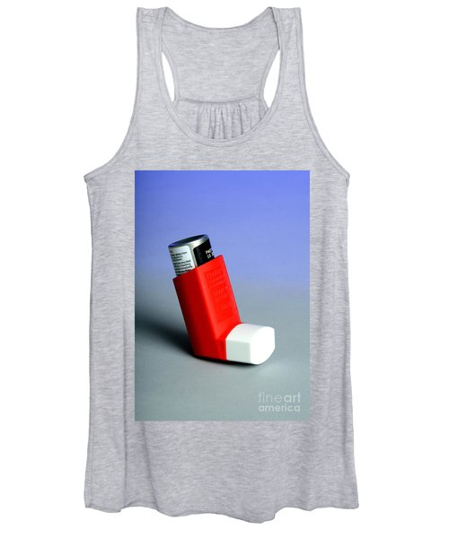 Asthma Inhaler Women's Tank Top