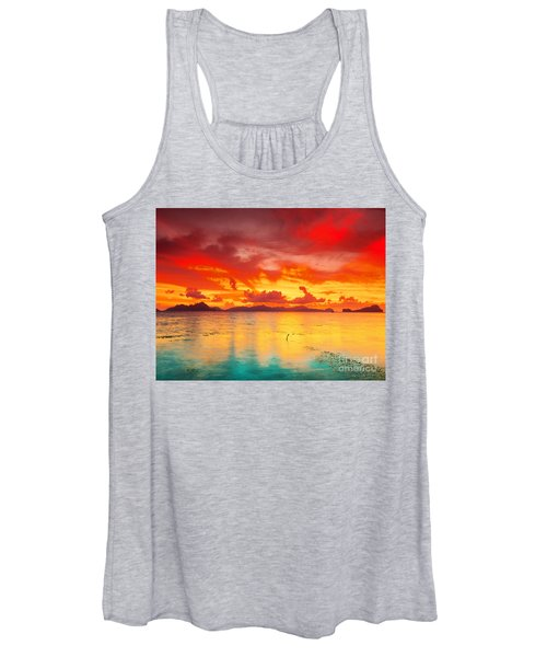Fantasy Sunset Women's Tank Top