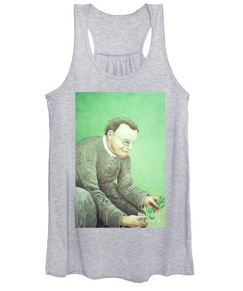 Gregor Mendel, Father Of Genetics Women's Tank Top