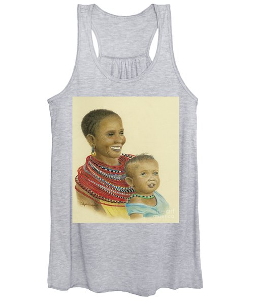 Masai Mom And Babe Women's Tank Top