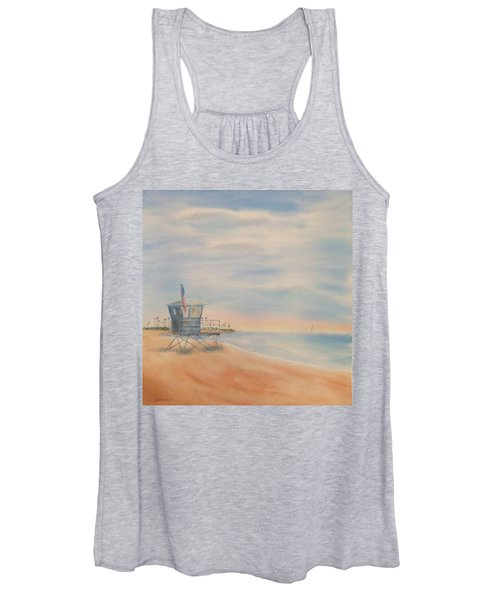 Morning By The Beach Women's Tank Top