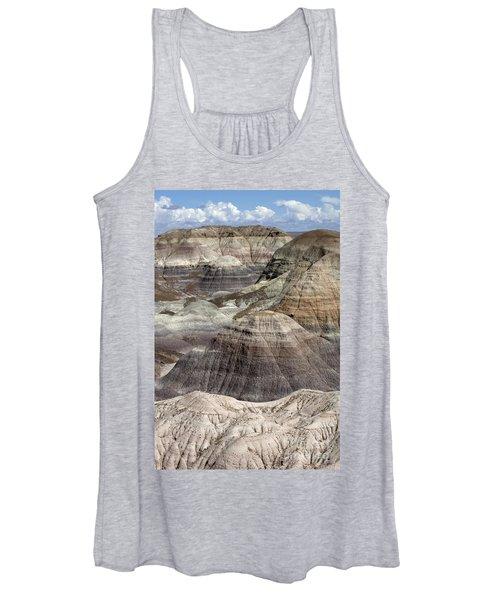 Petrified Forest Landscape 3 Women's Tank Top