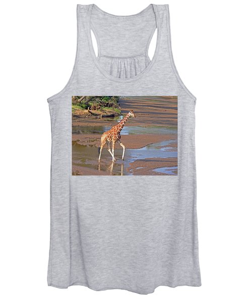 Reticulated Giraffe Women's Tank Top